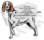 Burgos Pointer Dog Yard Art Woodworking Pattern