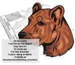 Cao Fila de Sao Miguel Yard Art Woodworking Pattern
