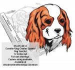 Cavalier King Charles Spaniel Dog Yard Art Woodworking Pattern
