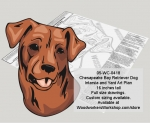 Chesapeake Bay Retriever Dog Intarsia and Yard Art Woodworking Pattern