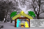 Nativity Life Size Silhouettes Yard Art Woodworking Pattern woodworking plan