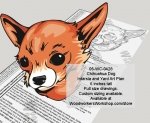 05-WC-0428 - Chihuahua Dog Woodworking Pattern