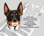 05-WC-0429 - Chilean Fox Terrier Dog Woodworking Pattern