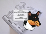 Smooth Collie Dog Yard Art Woodworking Pattern