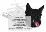 Croatian Sheepdog Scrollsaw Intarsia Yard Art Woodworking Pattern