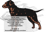 Curly Coated Retriever Intarsia and Yard Art Woodworking Pattern