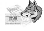 Czechoslovakian Wolfdog Intarsia or Yard Art Woodworking Pattern