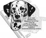 Dalmatian Dog Intarsia or Yard Art Woodworking Pattern
