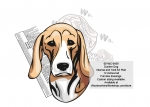 Dunker Dog Intarsia or Yard Art Woodworking Pattern