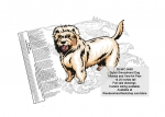 Dutch Smoushond Dog Intarsia or Yard Art Woodworking Pattern
