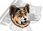 Elo Dog Scrollsaw Intarsia or Yard Art Woodworking Pattern