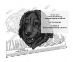 Estrela Mountain Dog Intarsia or Yard Art WoodPattern