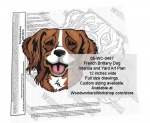 French Brittany Dog Intarsia or Yard Art Woodworking Plan woodworking plan
