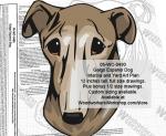 Galgo Espanol Dog Intarsia or Yard Art Woodworking Plan