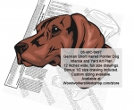 fee plans woodworking resource from WoodworkersWorkshop� Online Store - German Short Haired Pointer Dog,pets,breeds,animals,yard art,painting wood crafts,scrollsawing patterns,drawings,plywood,plywoodworking plans,woodworkers projects,workshop blueprints