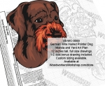 fee plans woodworking resource from WoodworkersWorkshop� Online Store - German Wire Haired Pointer Dogs,yard art,painting wood crafts,scrollsawing patterns,drawings,plywood,plywoodworking plans,woodworkers projects,workshop blueprints