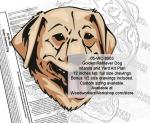 Golden Retriever Dog Intarsia and Yard Art Scrollsaw Pattern