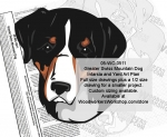 fee plans woodworking resource from WoodworkersWorkshop® Online Store - Greater Swiss Mountain Dogs,dog breeds,yard art,painting wood crafts,scrollsawing patterns,drawings,plywood,plywoodworking plans,woodworkers projects,workshop blueprints