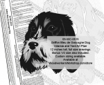 fee plans woodworking resource from WoodworkersWorkshop� Online Store - Griffon Bleu de Gascogne Dogs,dog breeds,yard art,painting wood crafts,scrollsawing patterns,drawings,plywood,plywoodworking plans,woodworkers projects,workshop blueprints