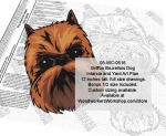 fee plans woodworking resource from WoodworkersWorkshop� Online Store - Griffon Bruxellois Dogs,dog breeds,yard art,painting wood crafts,scrollsawing patterns,drawings,plywood,plywoodworking plans,woodworkers projects,workshop blueprints