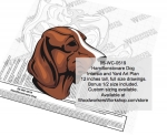 Hamiltonstovare Dog Intarsia or Yard Art Woodworking Pattern woodworking plan