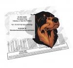 Hovawart Dog Intarsia or Yard Art Woodworking Pattern