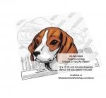 Hygenhund Dog Intarsia or Yard Art Woodworking Pattern
