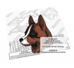 Icelandic Sheepdog Intarsia or Yard Art Woodworking Pattern