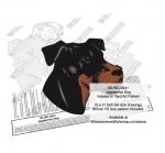 Jagdterrier Dog Intarsia or Yard Art Woodworking Plan