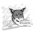 fee plans woodworking resource from WoodworkersWorkshop® Online Store - Jamthund dogs,pets,animals,dog breeds,intarsia,yard art,painting wood crafts,scrollsawing patterns,drawings,plywood,plywoodworking plans,woodworkers projects,workshop blueprints