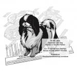 Japanese Chin Dog Intarsia or Yard Art Woodworking Plan