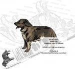 Karst Shepherd Dog Intarsia or Yard Art Woodworking Plan Kanni