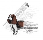 King Charles Spaniel Dog Intarsia or Yard Art Woodworking Plan woodworking plan