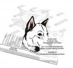 Kintamani Dog Intarsia or Yard Art Woodworking Plan