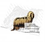 Komondor Dog Intarsia or Yard Art Woodworking Plan Kanni