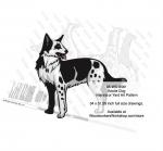 Koolie Dog Intarsia or Yard Art Woodworking Plan Kanni