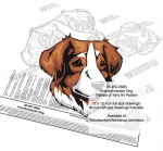 Kromfohrlander Dog Intarsia or Yard Art Woodworking Plan Kanni