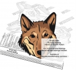 fee plans woodworking resource from WoodworkersWorkshop® Online Store - Kunming Wolfdog dogs,pets,animals,dog breeds,intarsia,yard art,painting wood crafts,scrollsawing patterns,drawings,plywood,plywoodworking plans,woodworkers projects,workshop blueprints