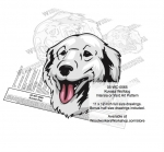 fee plans woodworking resource from WoodworkersWorkshop® Online Store - Kuvasz dogs,pets,animals,dog breeds,intarsia,yard art,painting wood crafts,scrollsawing patterns,drawings,plywood,plywoodworking plans,woodworkers projects,workshop blueprints