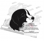 fee plans woodworking resource from WoodworkersWorkshop® Online Store - Landseer dogs,pets,animals,dog breeds,intarsia,yard art,painting wood crafts,scrollsawing patterns,drawings,plywood,plywoodworking plans,woodworkers projects,workshop blueprints