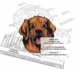 Leonberger Dog Intarsia or Yard Art Woodworking Plan