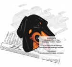 05-WC-0576 - Lithuanian Hound Dog Intarsia or Yard Art Woodworking Plan