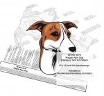 Magyar Agar Dog Intarsia or Yard Art Woodworking Plan