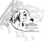 Maremma Sheepdog Dog Intarsia or Yard Art Woodworking Plan
