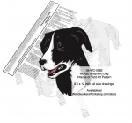 McNab Dog Intarsia or Yard Art Woodworking Plan