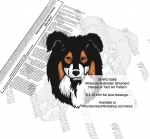 fee plans woodworking resource from WoodworkersWorkshop� Online Store - Miniature Australian Shepherd dogs,pets,animals,dog breeds,intarsia,yard art,painting wood crafts,scrollsawing patterns,drawings,plywood,plywoodworking plans,woodworkers projects,workshop blueprints