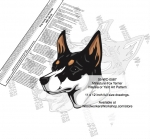 fee plans woodworking resource from WoodworkersWorkshop� Online Store - Miniature Fox Terrier dogs,pets,animals,dog breeds,intarsia,yard art,painting wood crafts,scrollsawing patterns,drawings,plywood,plywoodworking plans,woodworkers projects,workshop blueprints