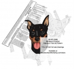 fee plans woodworking resource from WoodworkersWorkshop� Online Store - Miniature Pinscher dogs,pets,animals,dog breeds,intarsia,yard art,painting wood crafts,scrollsawing patterns,drawings,plywood,plywoodworking plans,woodworkers projects,workshop blueprints