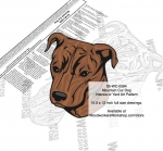 05-WC-0594 - Mountain Cur Intarsia or Yard Art Woodworking Plan