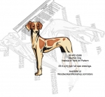 05-WC-0596 - Mudhol Hound Dog Intarsia or Yard Art Woodworking Plan